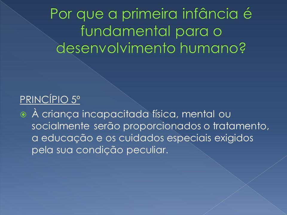 Por que a primeira infância é fundamental para o desenvolvimento humano