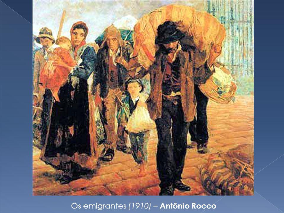 Os emigrantes (1910) – Antônio Rocco