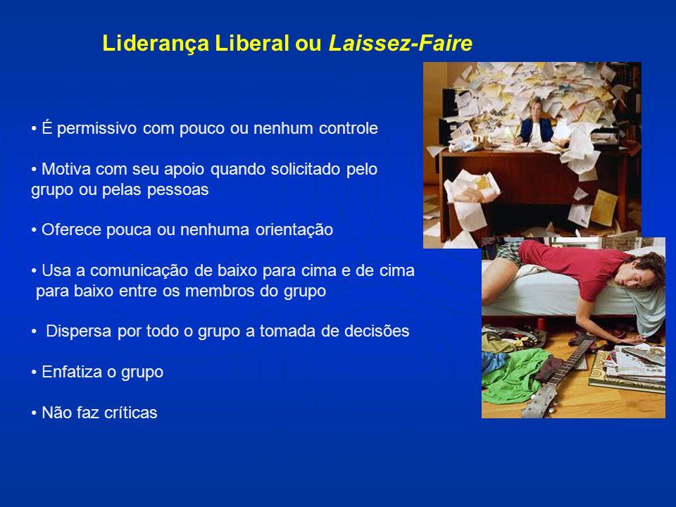 Liderança Liberal ou Laissez-Faire