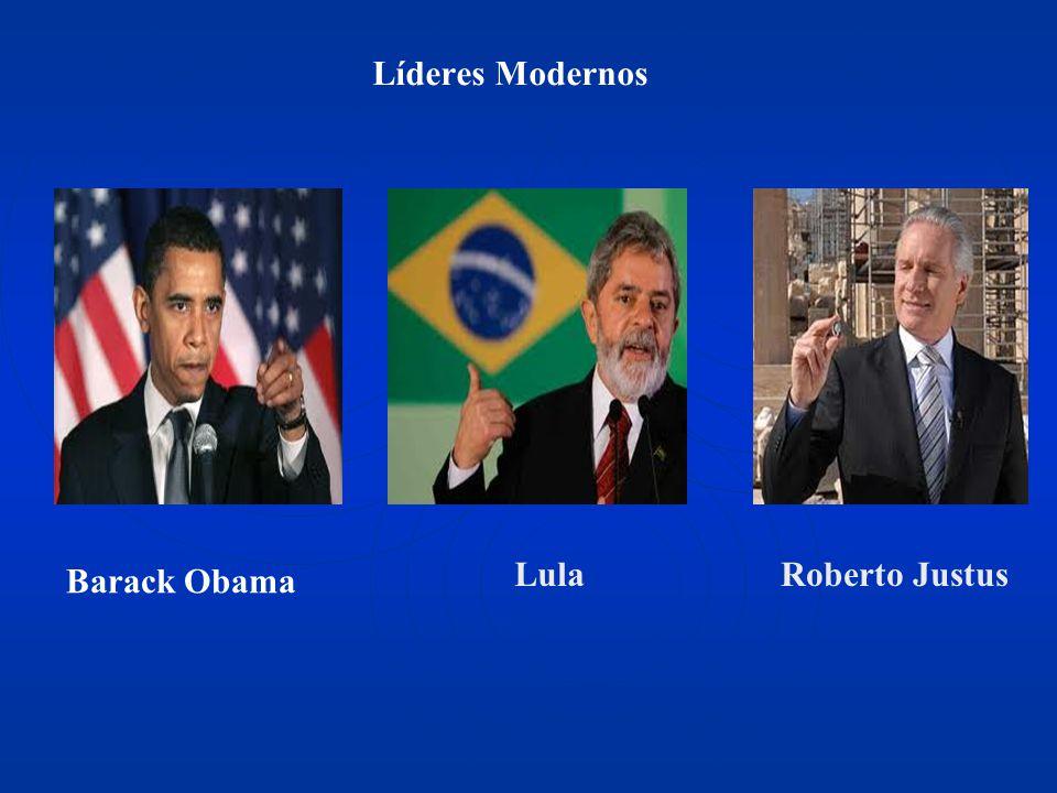 Líderes Modernos Barack Obama Lula Roberto Justus