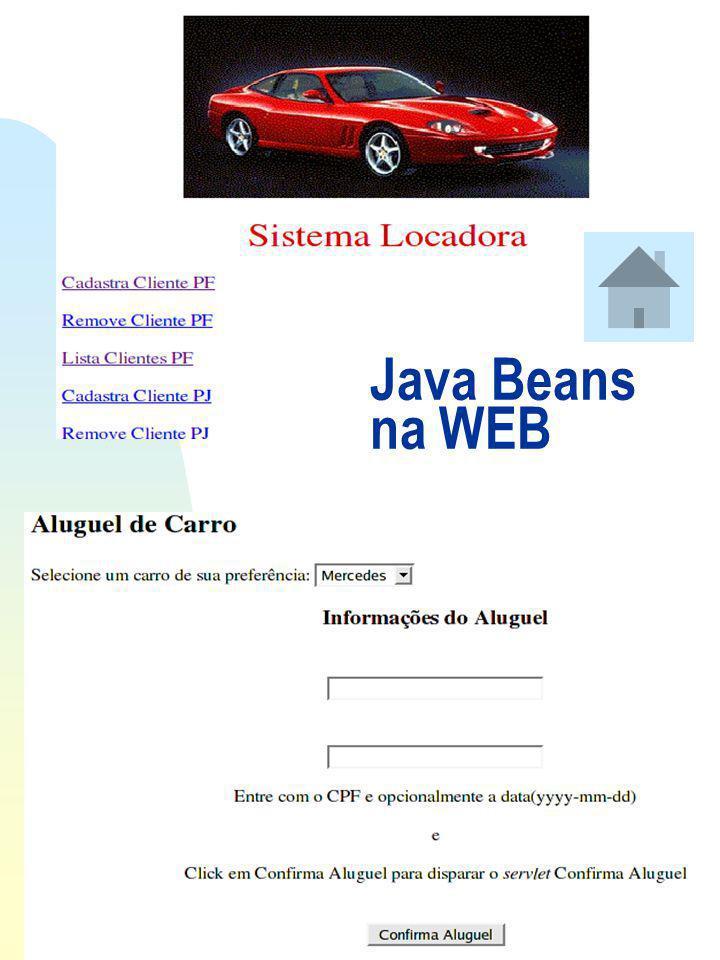 Java Beans na WEB