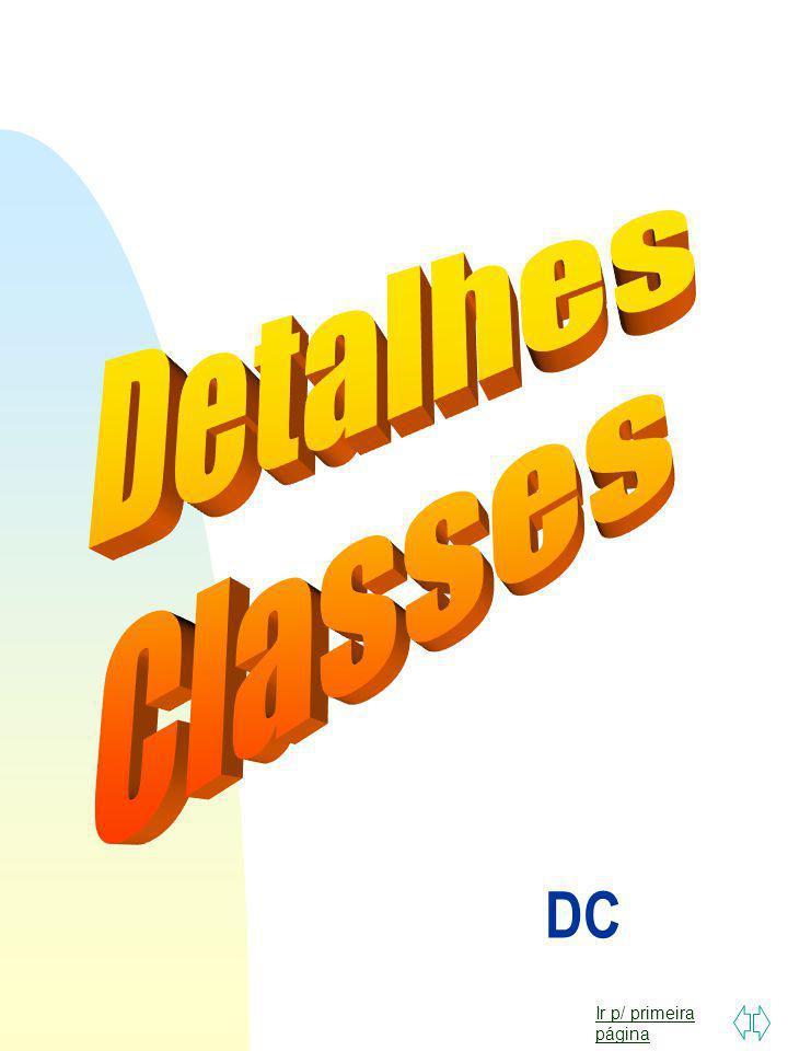 Detalhes Classes DC