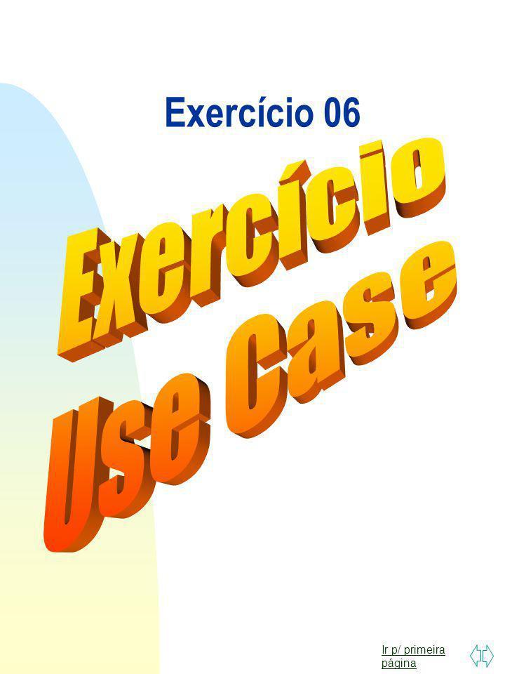 Exercício 06 Exercício Use Case