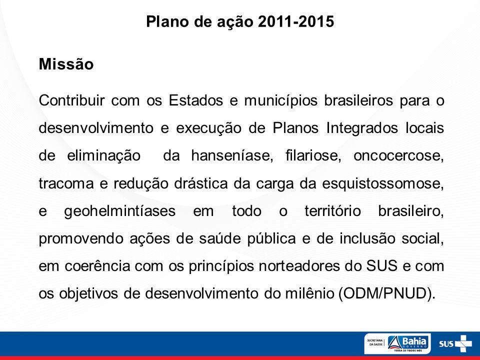 Plano de ação 2011-2015 Missão.