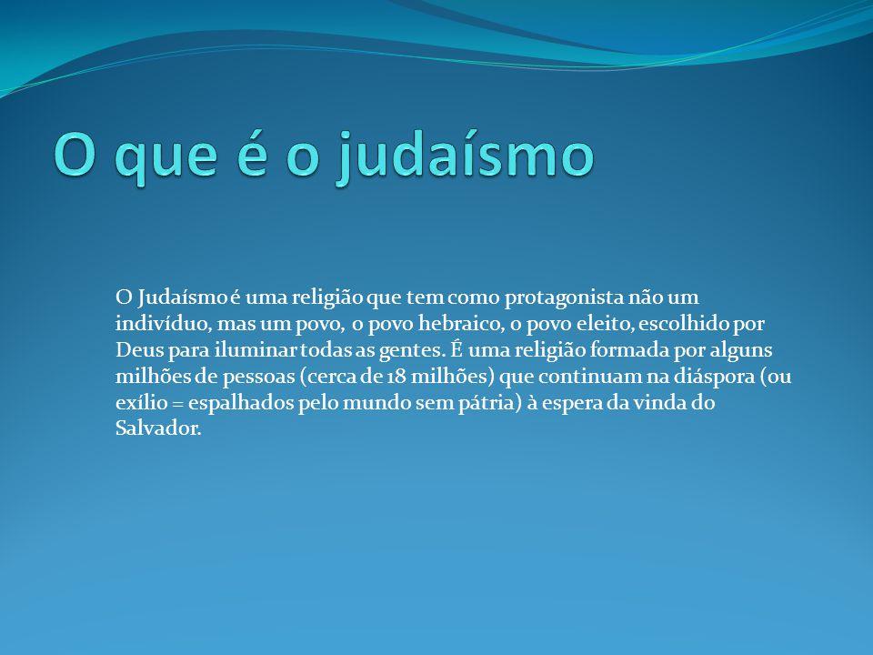 O que é o judaísmo
