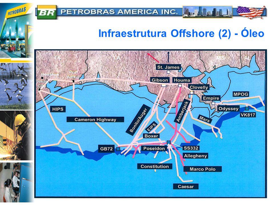 Infraestrutura Offshore (2) - Óleo