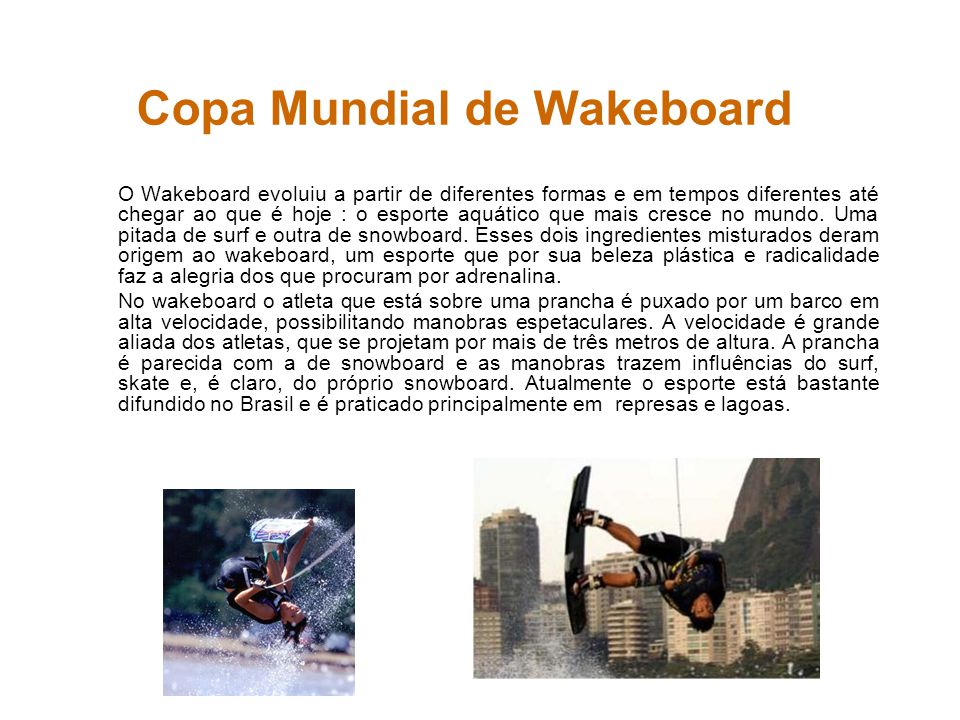 Copa Mundial de Wakeboard
