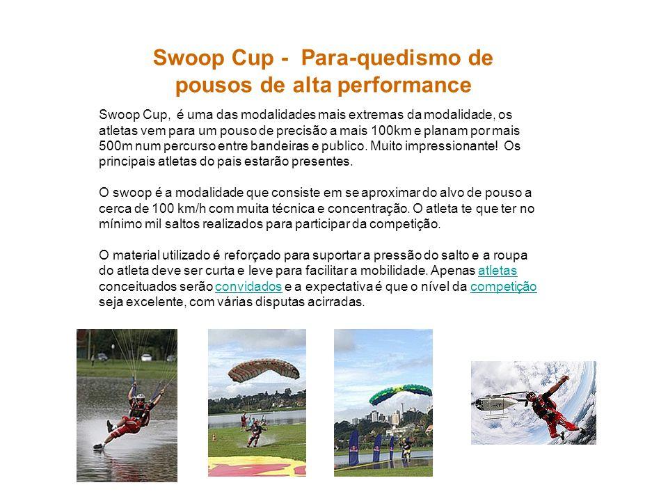 Swoop Cup - Para-quedismo de pousos de alta performance