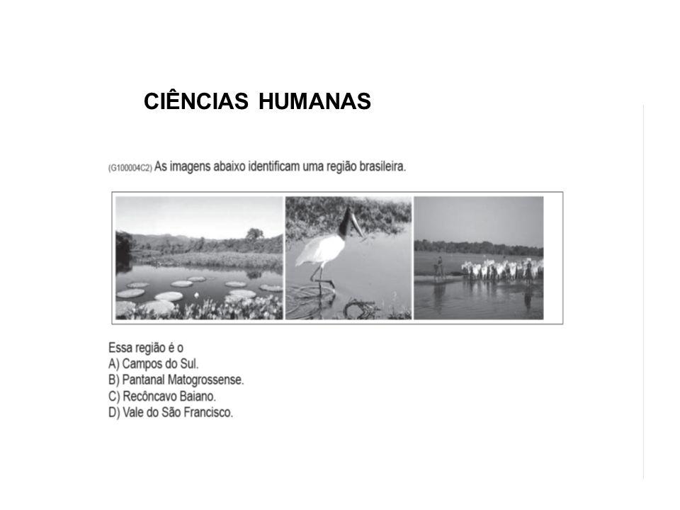 CIÊNCIAS HUMANAS CIÊNCIAS HUMANAS