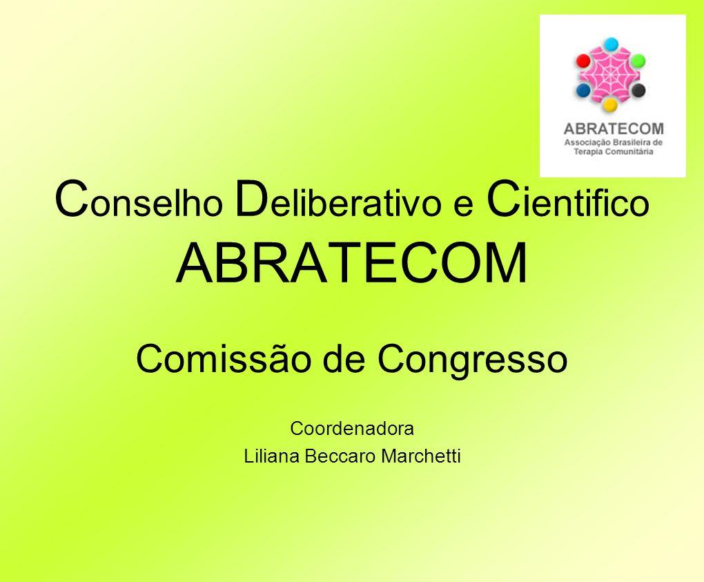 Conselho Deliberativo e Cientifico ABRATECOM