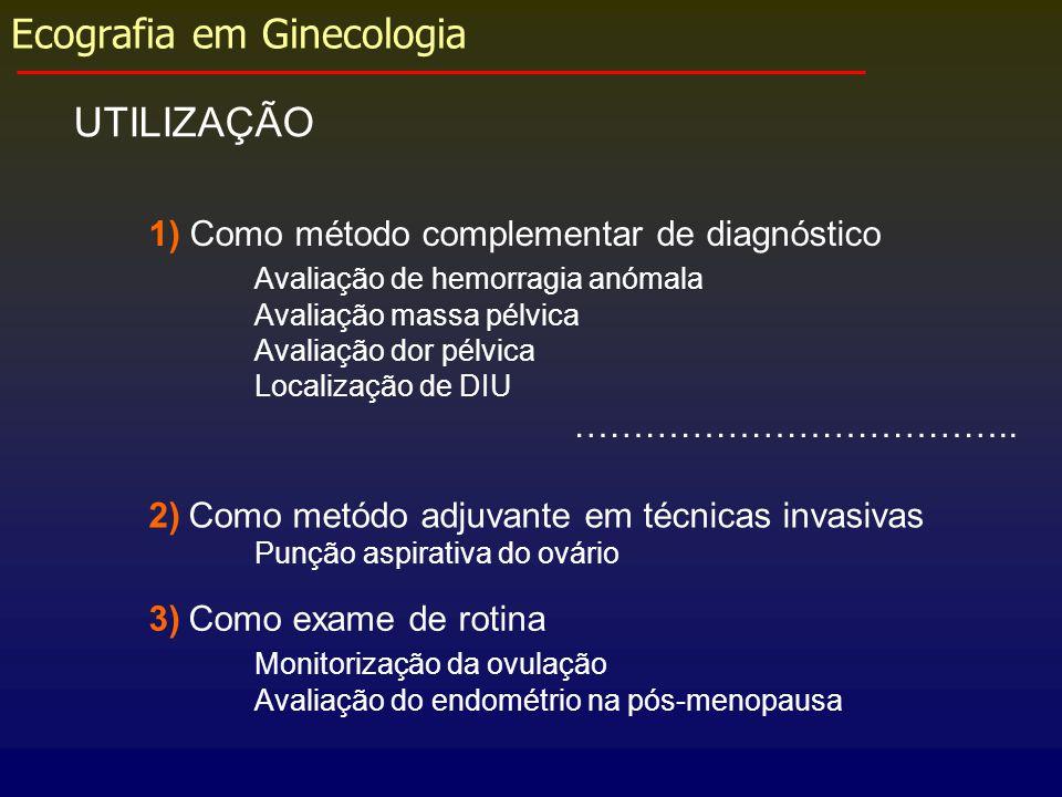 Ecografia em Ginecologia