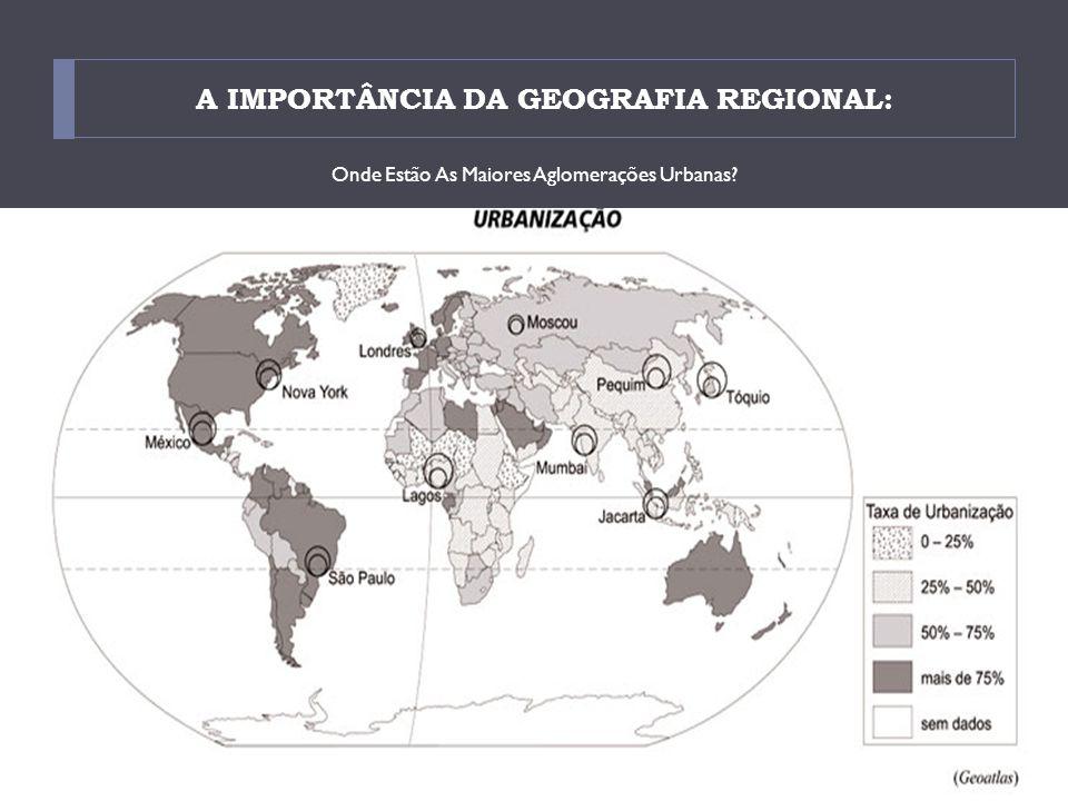 A IMPORTÂNCIA DA GEOGRAFIA REGIONAL: