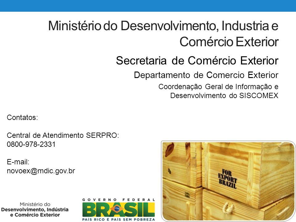 Ministério do Desenvolvimento, Industria e Comércio Exterior