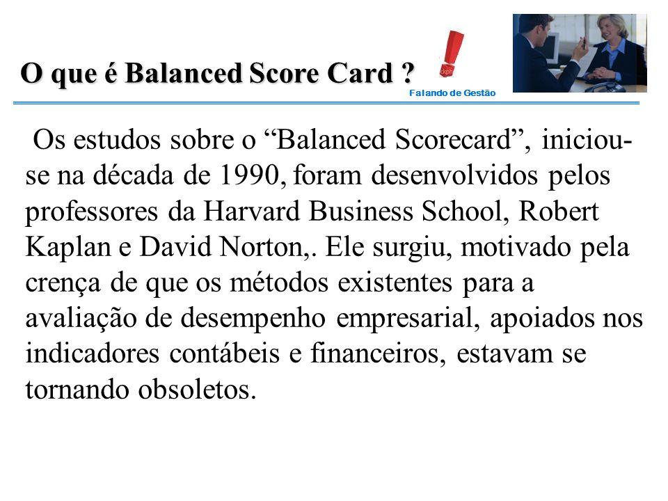 O que é Balanced Score Card