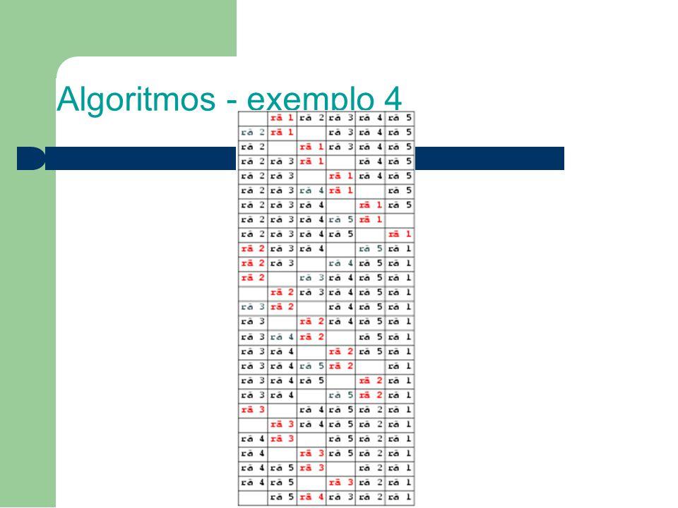 1111 Algoritmos - exemplo 4