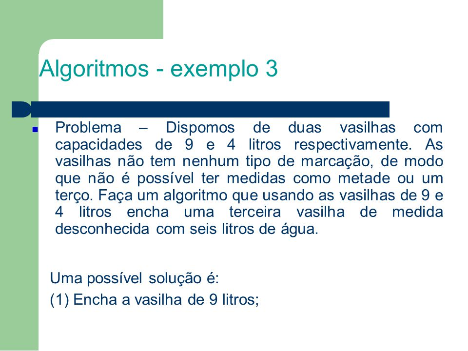 7 Algoritmos - exemplo 3.