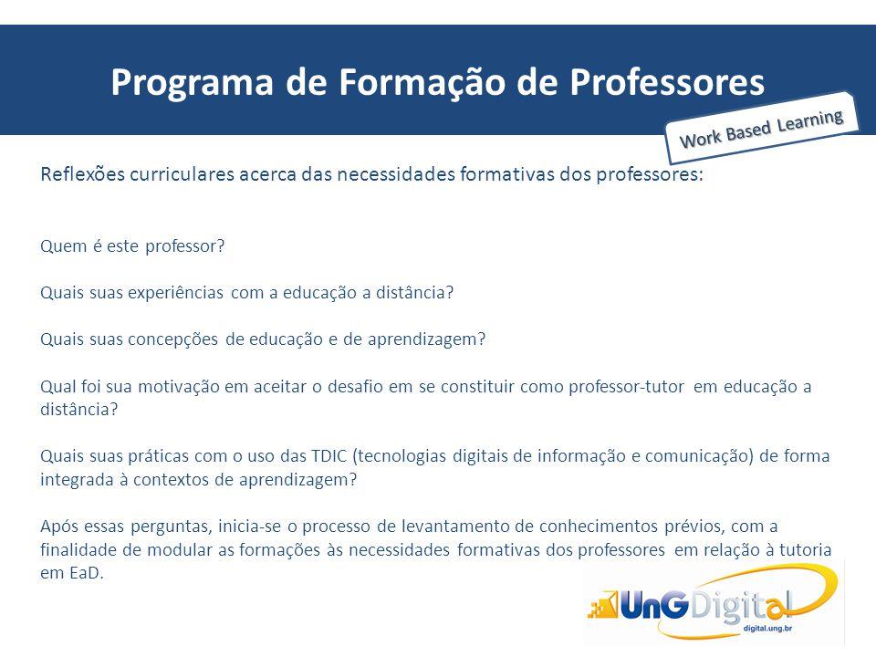 Programa de Formação de Professores