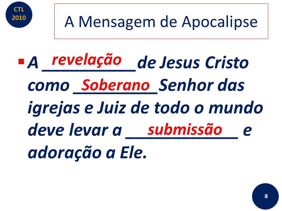 A Mensagem de Apocalipse