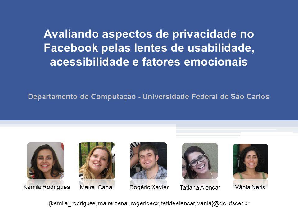 Departamento de Computação - Universidade Federal de São Carlos