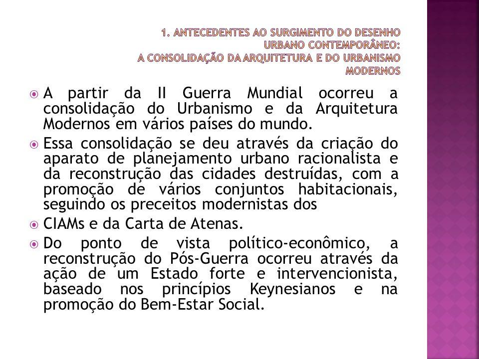 CIAMs e da Carta de Atenas.