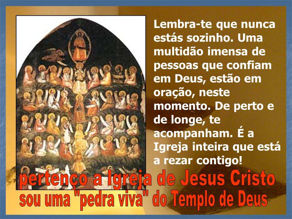 pertenço a Igreja de Jesus Cristo