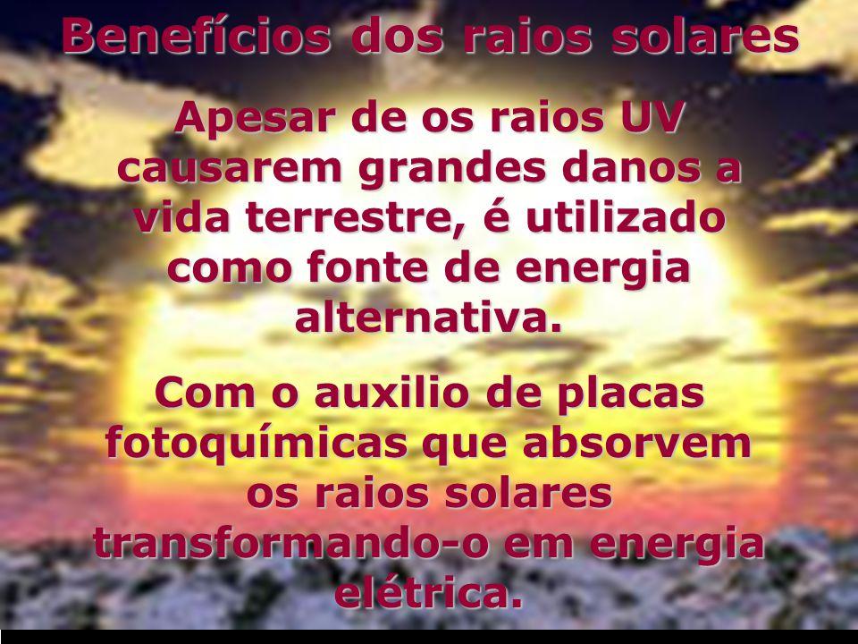 Benefícios dos raios solares