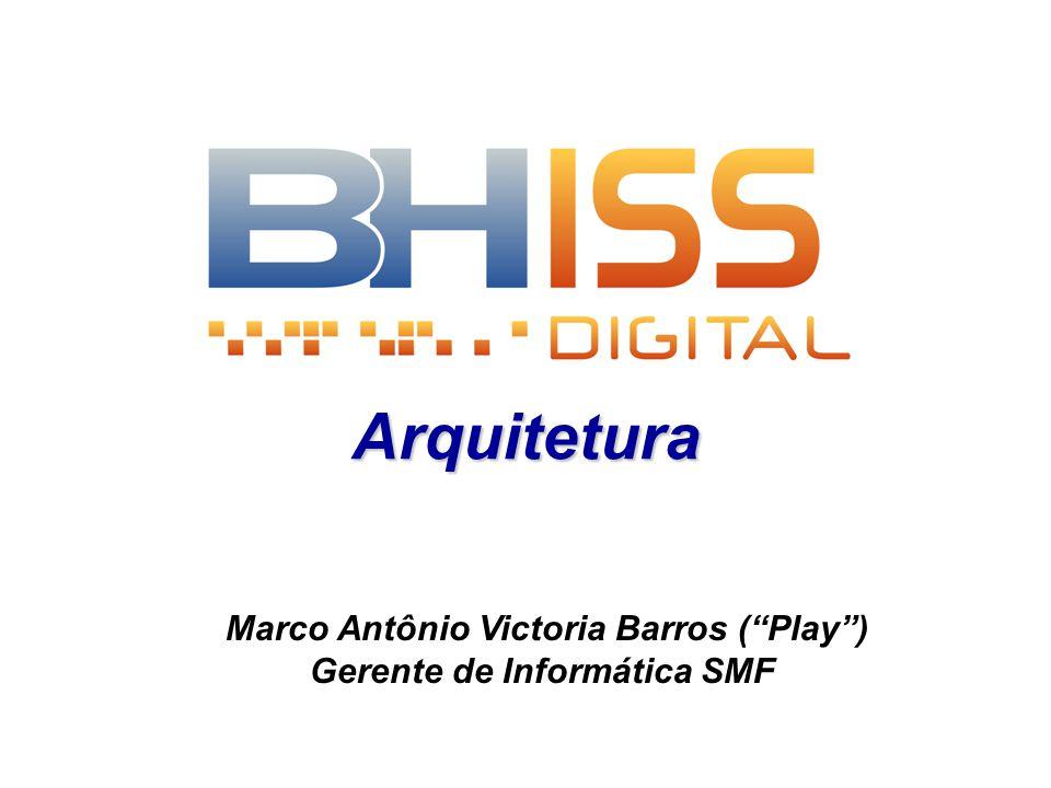 Marco Antônio Victoria Barros ( Play ) Gerente de Informática SMF