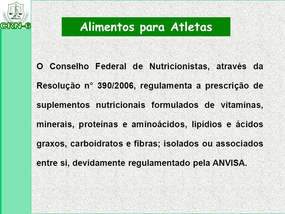 Alimentos para Atletas