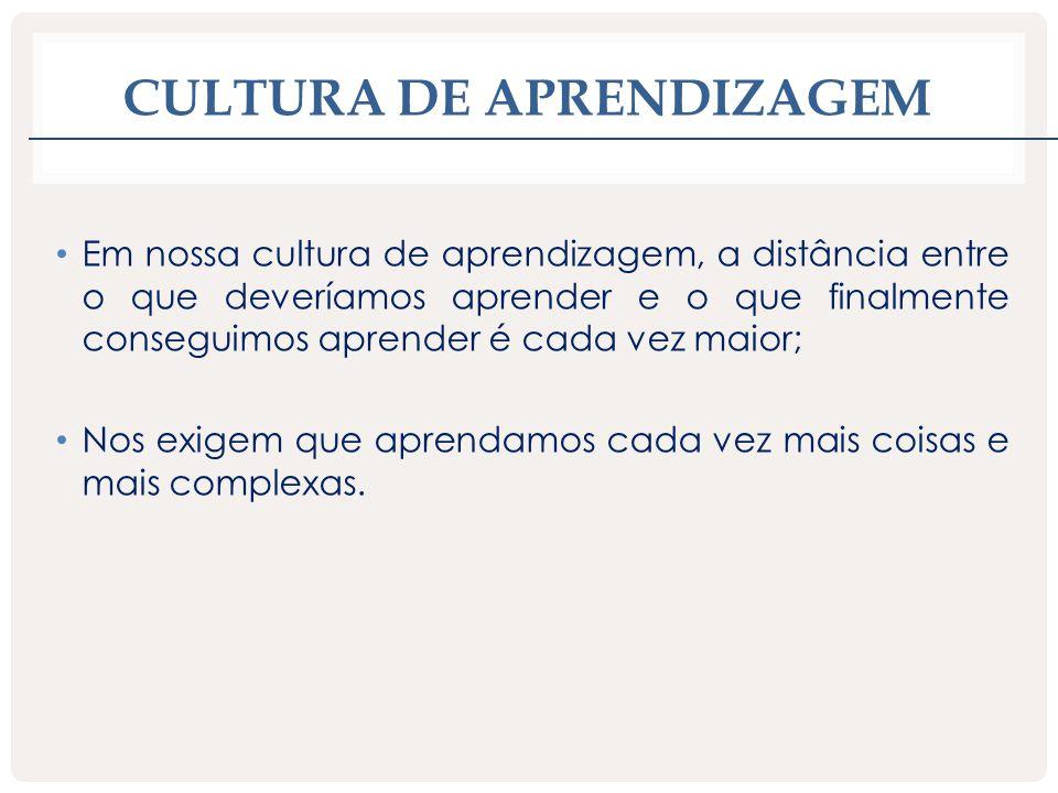 Cultura de aprendizagem