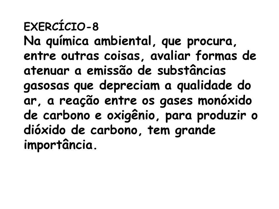 Na química ambiental, que procura,
