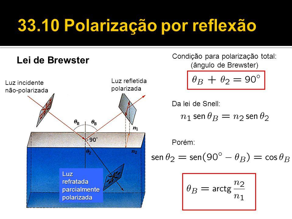 33.10 Polarização por reflexão