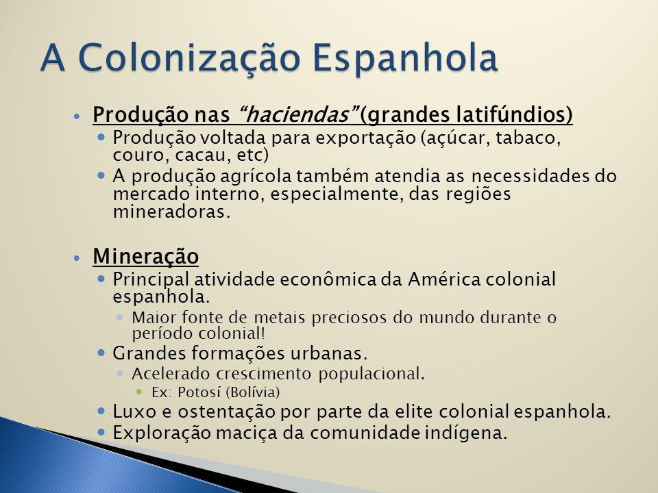 A Colonização Espanhola