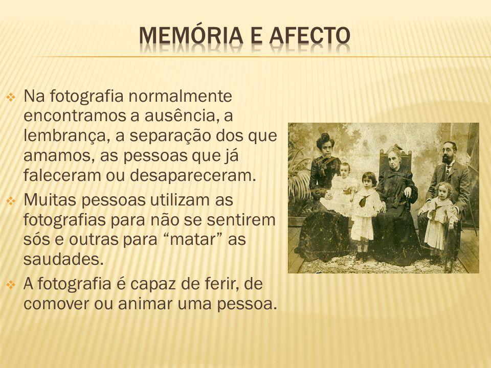 Memória e Afecto
