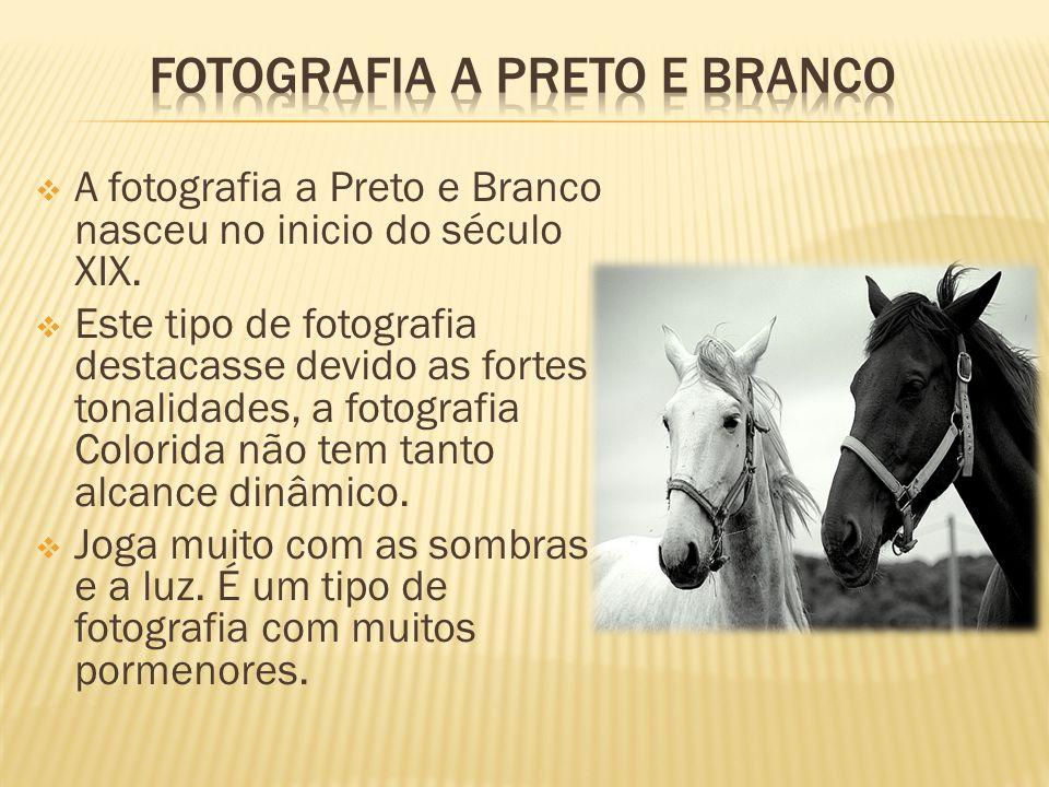 Fotografia a preto e branco