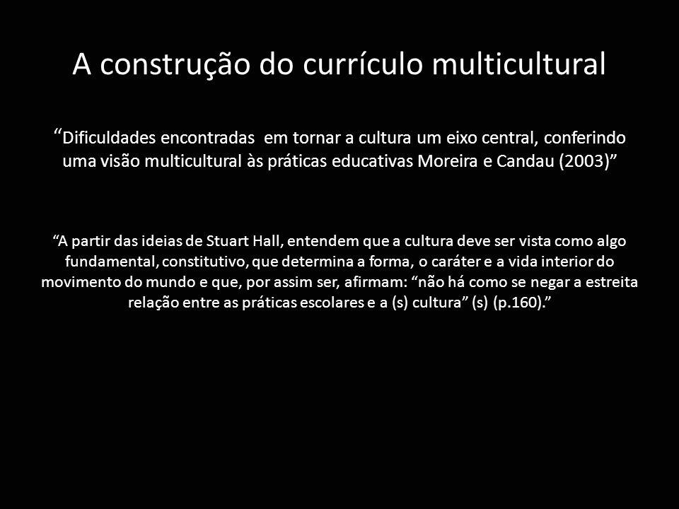 A construção do currículo multicultural