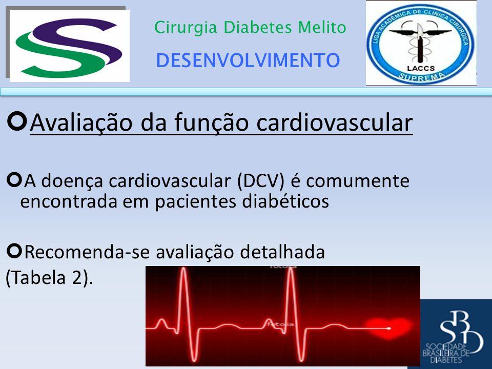 Avaliação da função cardiovascular