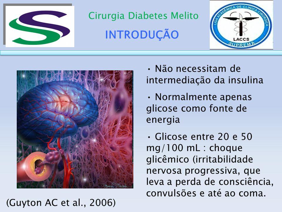 INTRODUÇÃO Cirurgia Diabetes Melito