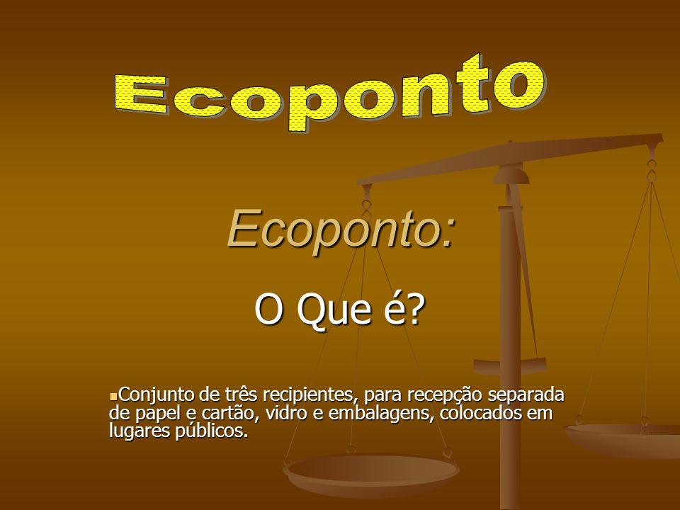 Ecoponto: O Que é Ecoponto