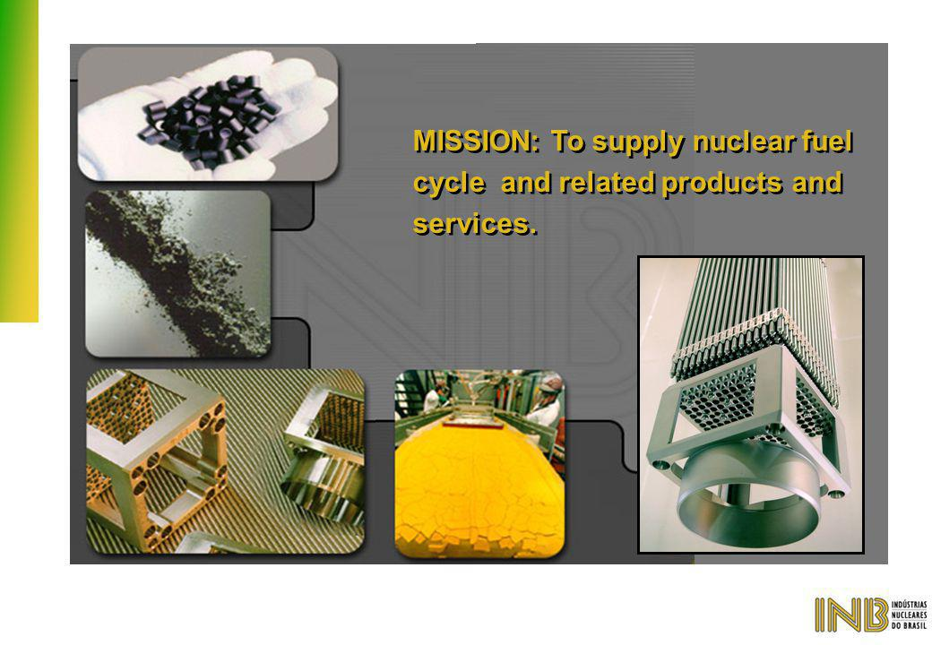 MISSION: To supply nuclear fuel cycle and related products and services.