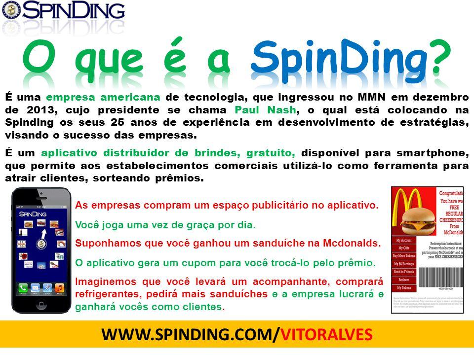 O que é a SpinDing WWW.SPINDING.COM/VITORALVES