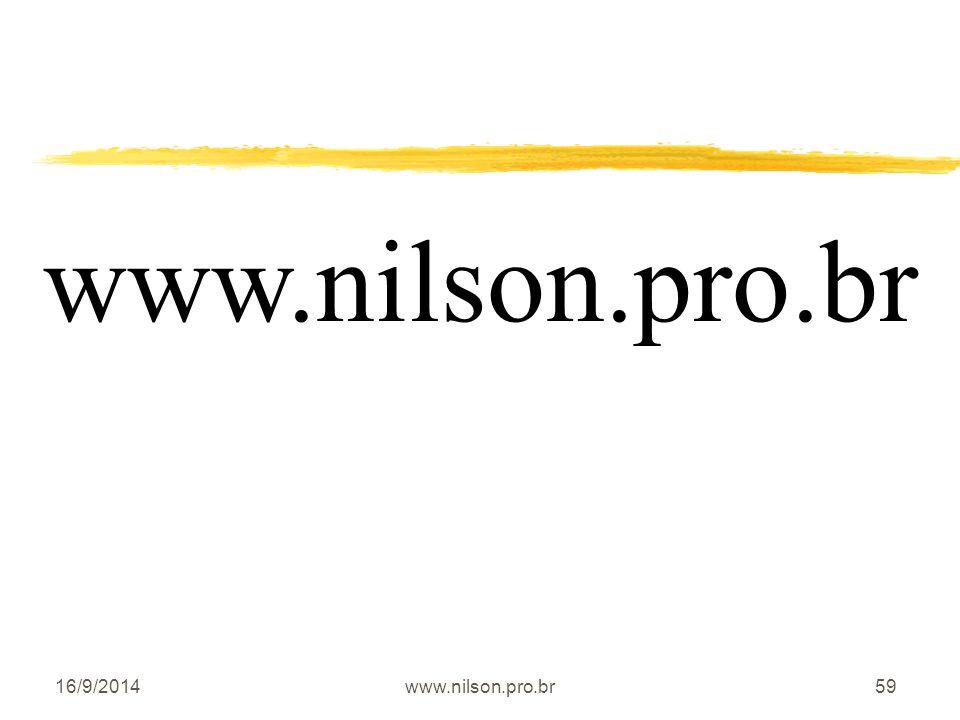 www.nilson.pro.br 02/04/2017 www.nilson.pro.br