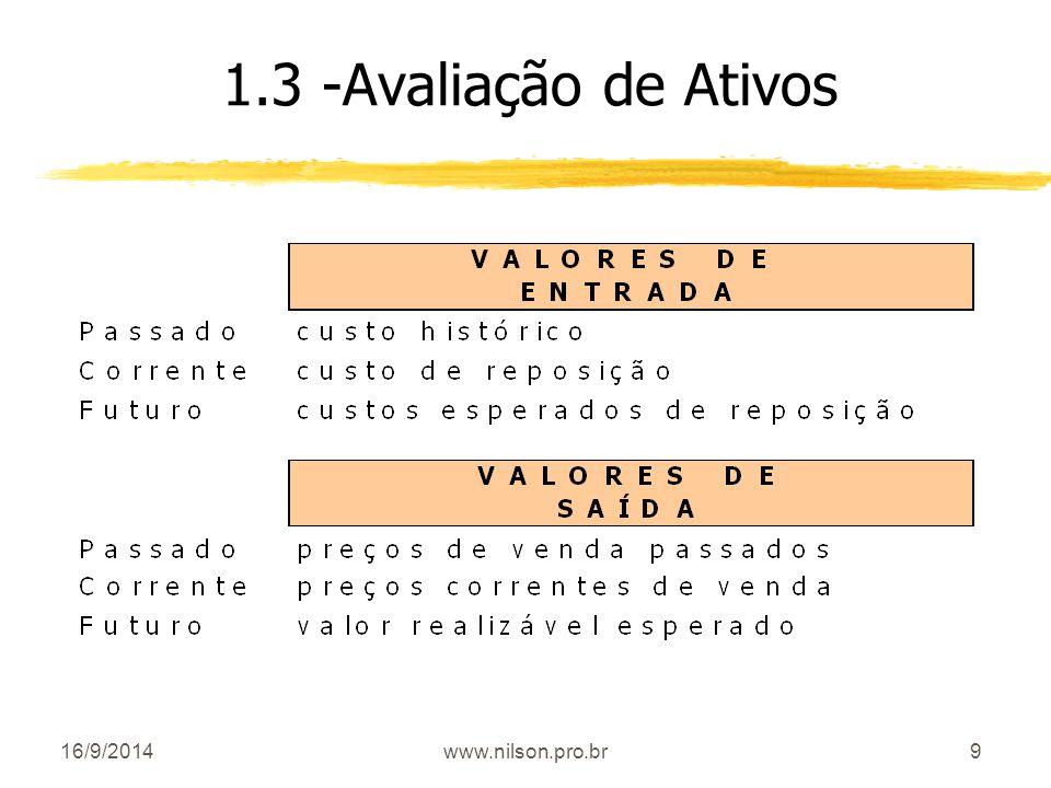 1.3 -Avaliação de Ativos 02/04/2017 www.nilson.pro.br