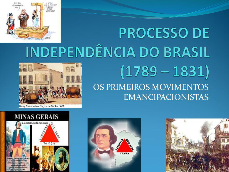 PROCESSO DE INDEPENDÊNCIA DO BRASIL (1789 – 1831)