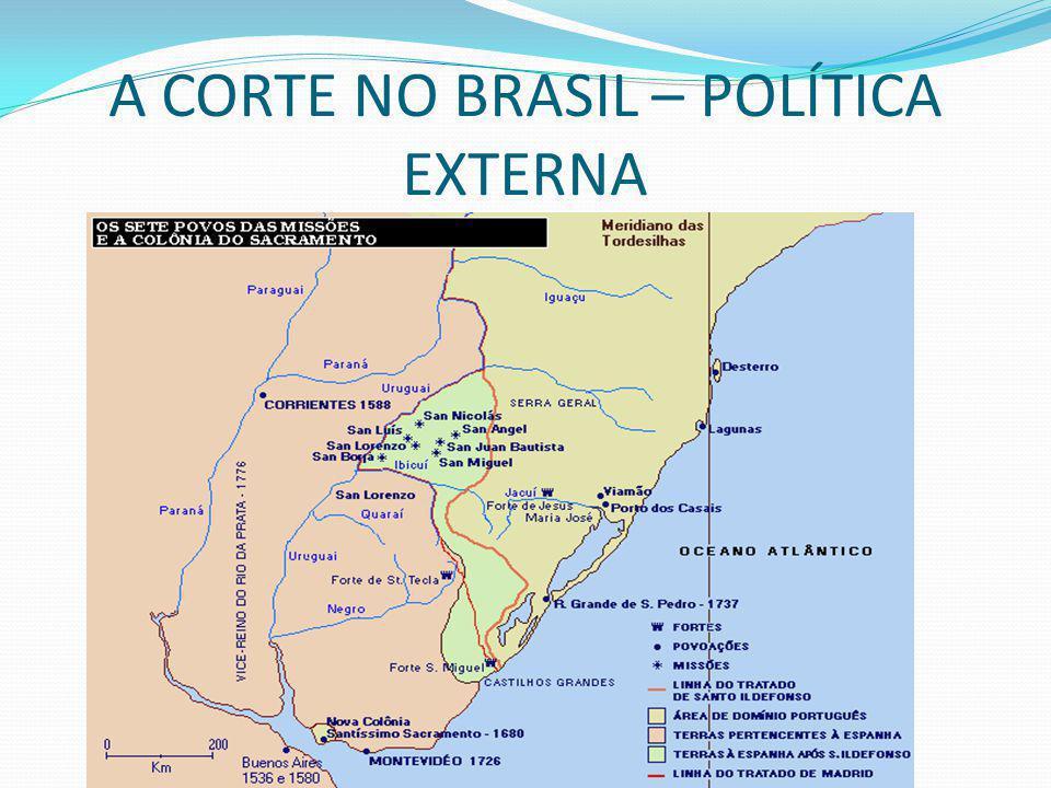 A CORTE NO BRASIL – POLÍTICA EXTERNA