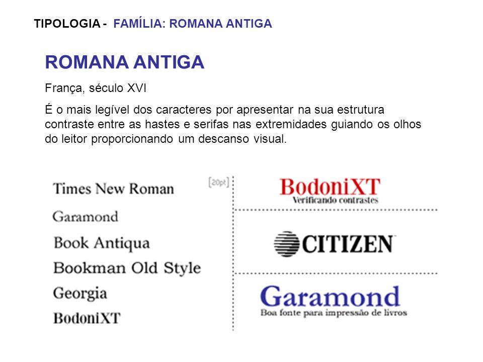 ROMANA ANTIGA TIPOLOGIA - FAMÍLIA: ROMANA ANTIGA França, século XVI