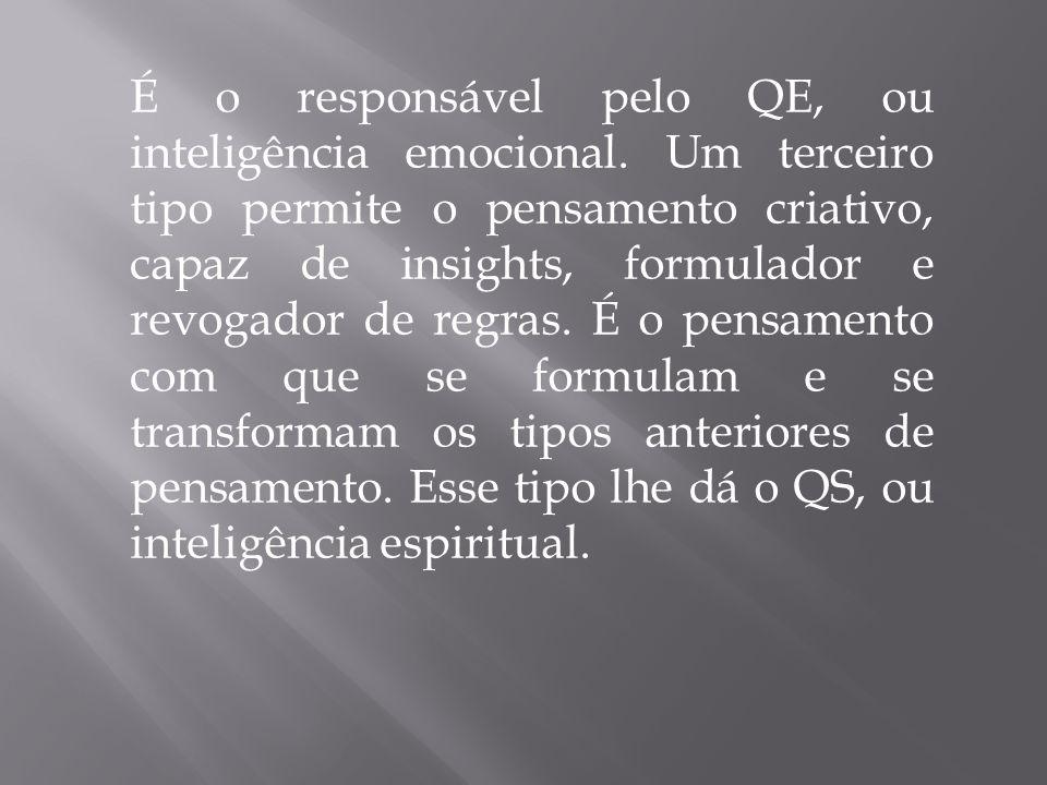 É o responsável pelo QE, ou inteligência emocional