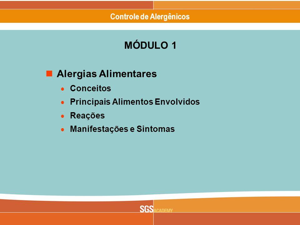 MÓDULO 1 Alergias Alimentares Conceitos