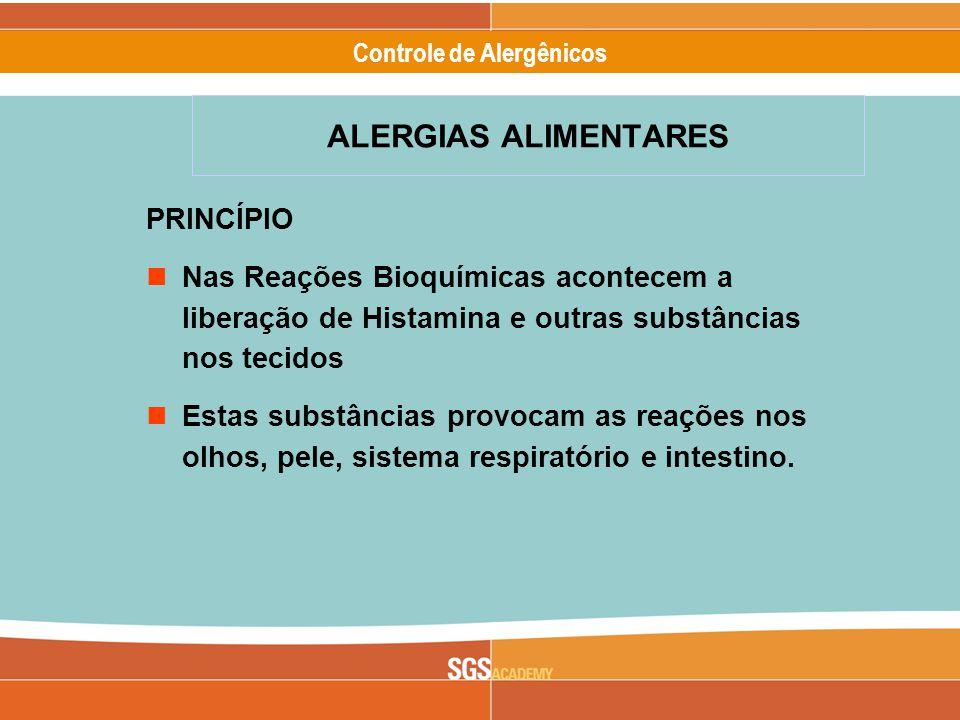ALERGIAS ALIMENTARES PRINCÍPIO