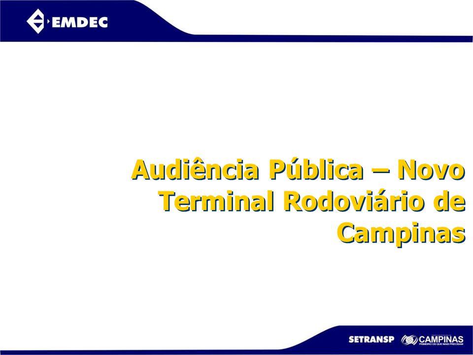 Audiência Pública – Novo Terminal Rodoviário de Campinas