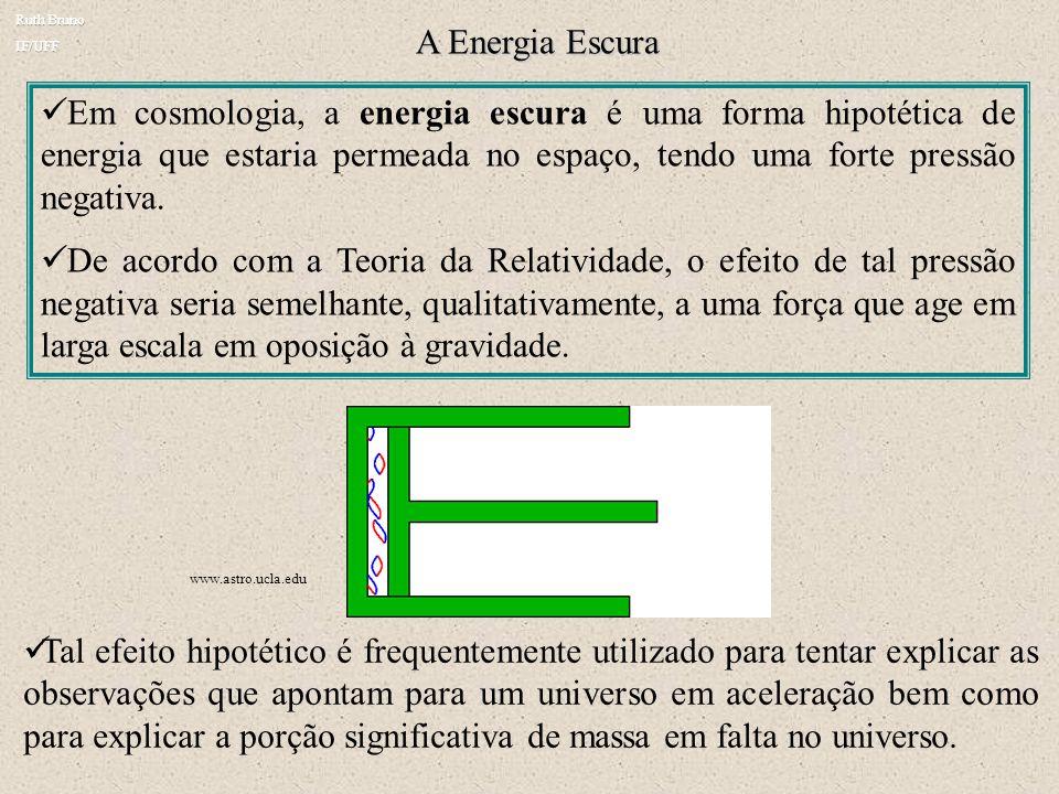Ruth Bruno IF/UFF. A Energia Escura.